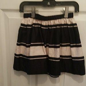 Crew cuts skirt